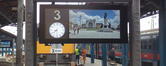 Those who re-tuned Keleti Railway Station